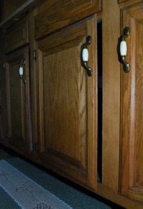 Cabinet door never stays closed.