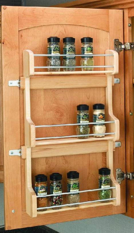 Diy Door Mounted Spice Rack Plans Pdf Download Build