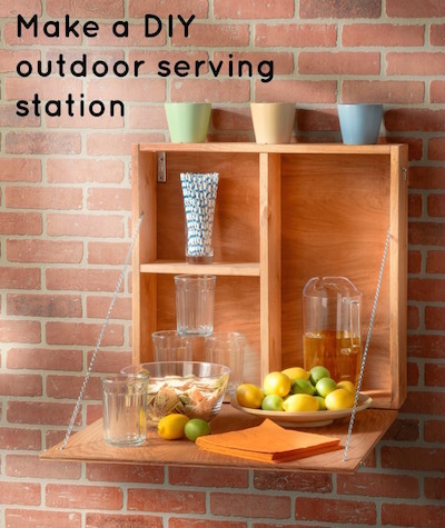 How-to-make-a-DIY-outdoor-serving-station