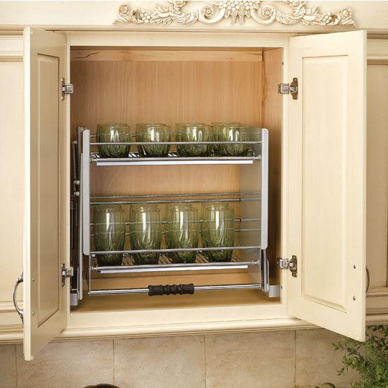 Pull-Down Cabinet Storage